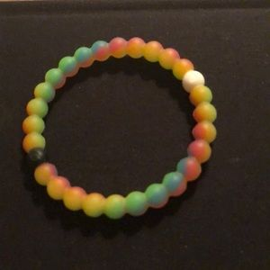 Neon/Rainbow Make-A-Wish Lokai Bracelet